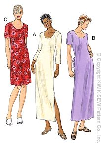 Kwik Sew Learn-To-Sew Dress Pattern 3053