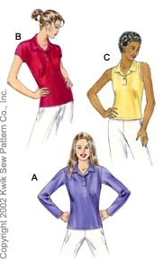 Kwik Sew Polo shirts 3059