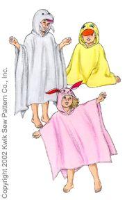 Kwik Sew Hooded Towel 3080