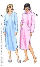 Kwik Sew Nightgowns 3081