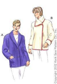Kwik Sew 3096 Misses Jacket 3096
