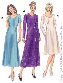 Kwik Sew Misses Dresses 3110