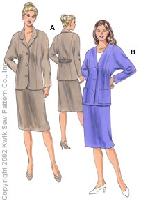 Kwik Sew Misses Jackets & Skirts 3118
