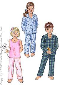 Kwik Sew Pajamas 3126