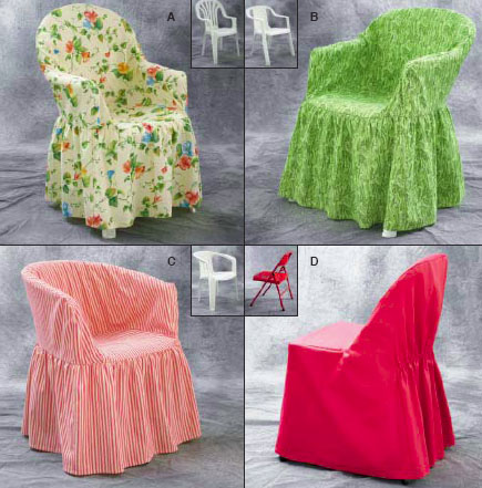 Kwik Sew Crafts Chair Covers 3132