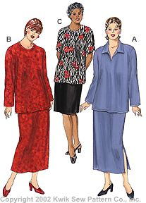 Kwik Sew Women Skirts & Tops 3137