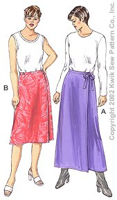Kwik Sew Women Skirts 3138