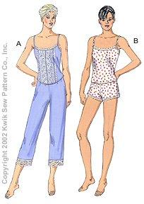 Kwik Sew Misses Sleepwear 3143