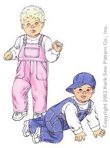 Kwik Sew Babies Overalls & Hat 3145