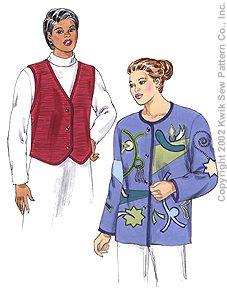 Kwik Sew Women Jacket & Vest 3147