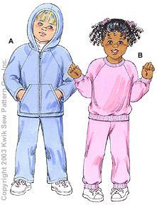 Kwik Sew Toddlers Shirts & Pants 3150