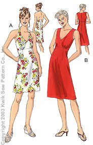 Kwik Sew Misses Dresses 3151