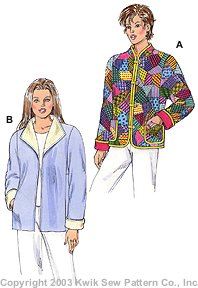 Kwik Sew Misses Jackets 3158