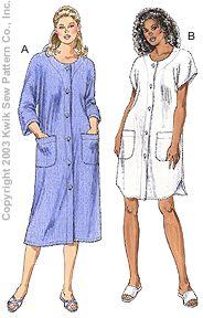 Kwik Sew Misses Robes 3176