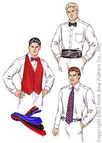 Kwik Sew Men's Accessories 3183