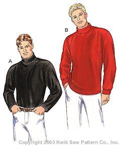 Kwik Sew Men Shirts 3186