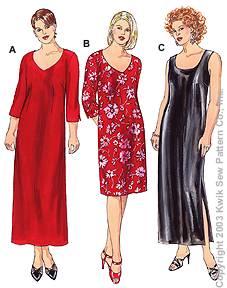 Kwik Sew Women Dresses 3192
