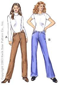 Kwik Sew Jeans 3193