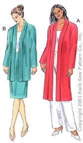 Kwik Sew Misses Jackets & Skirt 3198