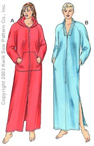 Kwik Sew Misses Robes 3209