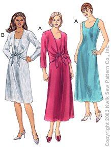 Kwik Sew Misses Dresses & Jackets 3214