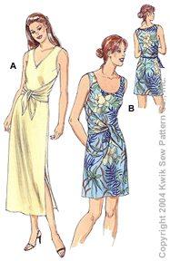 Kwik Sew Misses Dresses 3225
