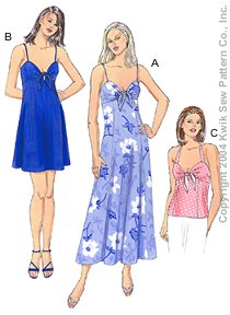 Kwik Sew Misses Dresses & Top 3241