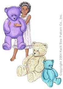 Kwik Sew Crafts Teddy Bears 3246