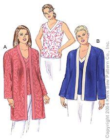 Kwik Sew Women Jackets & Top 3255