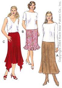 Kwik Sew Women's skirts 3256