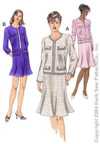 Kwik Sew Misses Jackets & Skirts 3258