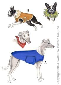Kwik Sew Crafts Dog Coats, Bandana & Party Collar 3260