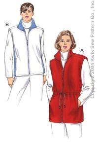 Kwik Sew Women Vests 3269