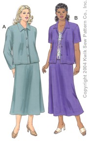 Kwik Sew Women Jackets, Skirt & Top 3276