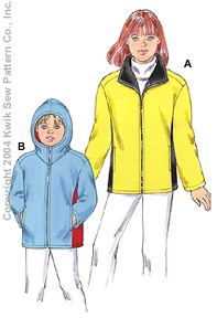 Kwik Sew Girls Jackets 3290