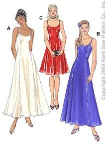 Kwik Sew Misses Dresses 3294