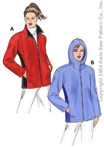Kwik Sew Misses Jackets 3297