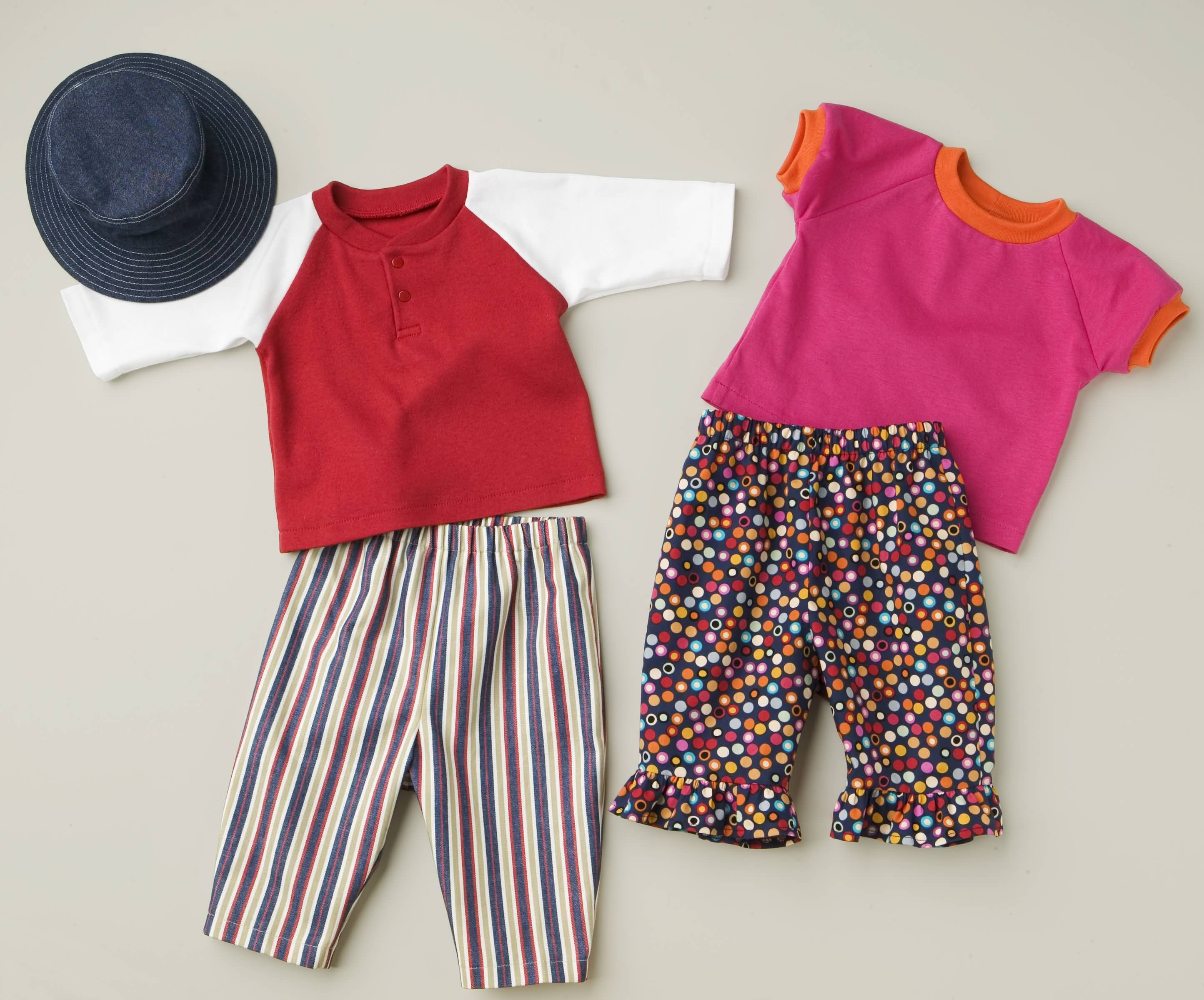 Kwik Sew Shirts, Pants and Hat 3309