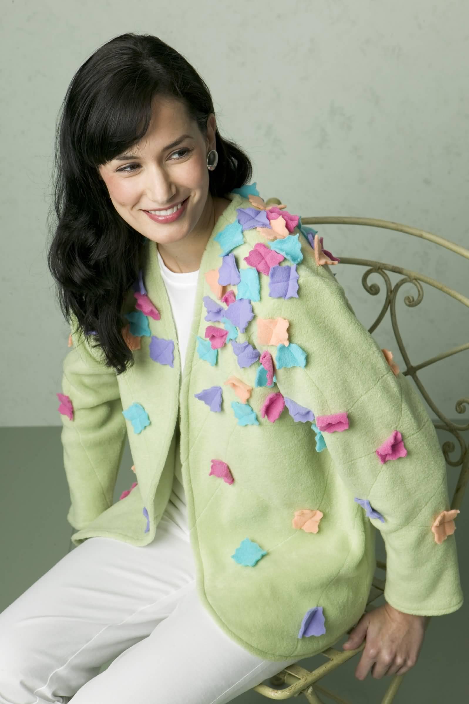 Kwik Sew Jacket and Flowers 3313