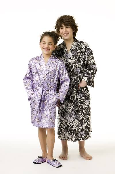 Kwik Sew Children Boys and Girls Robe 3329
