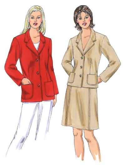 Kwik Sew Misses Jackets and skirt 3335