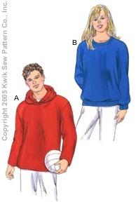 Kwik Sew Unisex Adults Shirts 3344