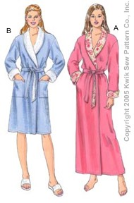 Kwik Sew Misses Robes 3350