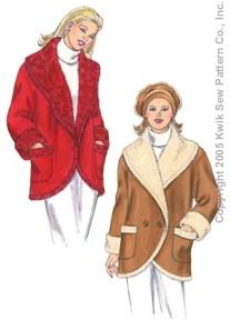 Kwik Sew Misses Jacket & Hat 3358