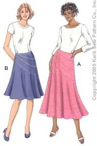 Kwik Sew Misses Skirts 3362