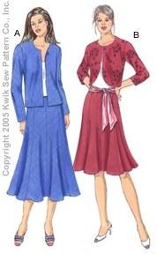 Kwik Sew Misses Jackets & Skirts 3364