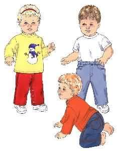Kwik Sew Shirts & Pants 3374