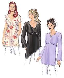 Kwik Sew Tunics 3376