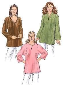 Kwik Sew Tunics 3377