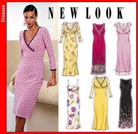 New Look Misses Dress and Slip Dress 6040OOP